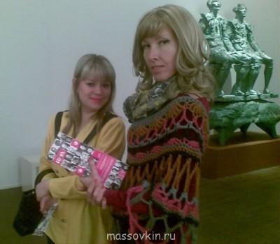 На Гоголевском странное исскуство созерцали - Наш дев. 04032013(012)-001.jpg