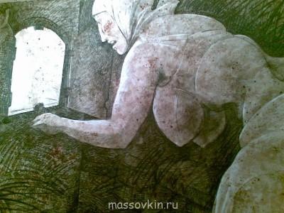 На Гоголевском странное исскуство созерцали - Баба и печь. 04032013(033).jpg